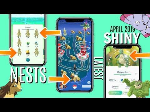 Best Shiny Nests in Pokemon GO | Nest Coordinates | Spoof Pokemon GO 2019