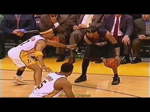 Allen Iverson 30 Points 2 Ast 4 Stl @ Lakers, 2002-03.