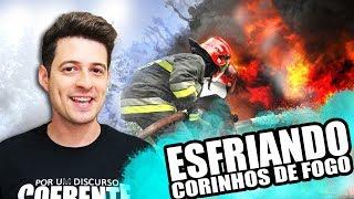 ESFRIANDO CORINHOS DE FOGO