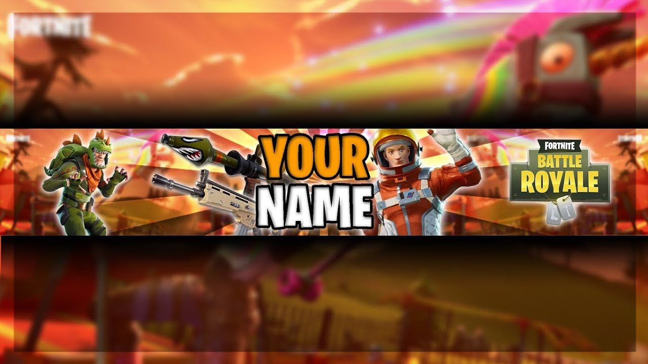 Fortnite Banner Template Free Photoshop Cs6 Youtube