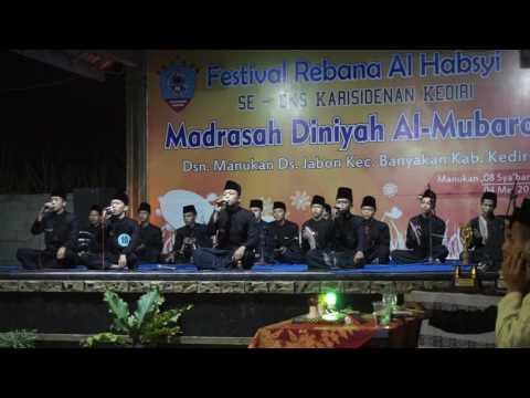 AQJ festival Al Habsy Terbaik Se Eks Karesidenan Kediri