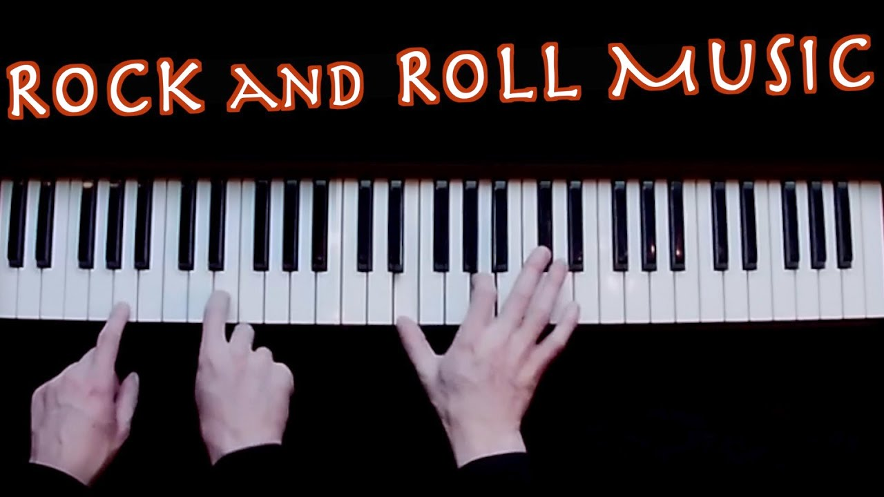 Rock and Roll Music | Studio Piano Cover | Isolated