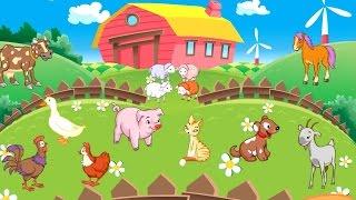 Как говорят ДОМАШНИЕ ЖИВОТНЫЕ на ферме/Мультик игра от канала LEVstudio