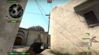 Cat Smoke Trick Dust 2 (T side)