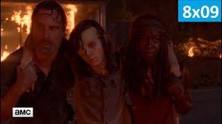 Ходячие мертвецы 8 сезон 9 серия - Трейлер/Промо (Без перевода, 2018) The Walking Dead 8x09 Promo
