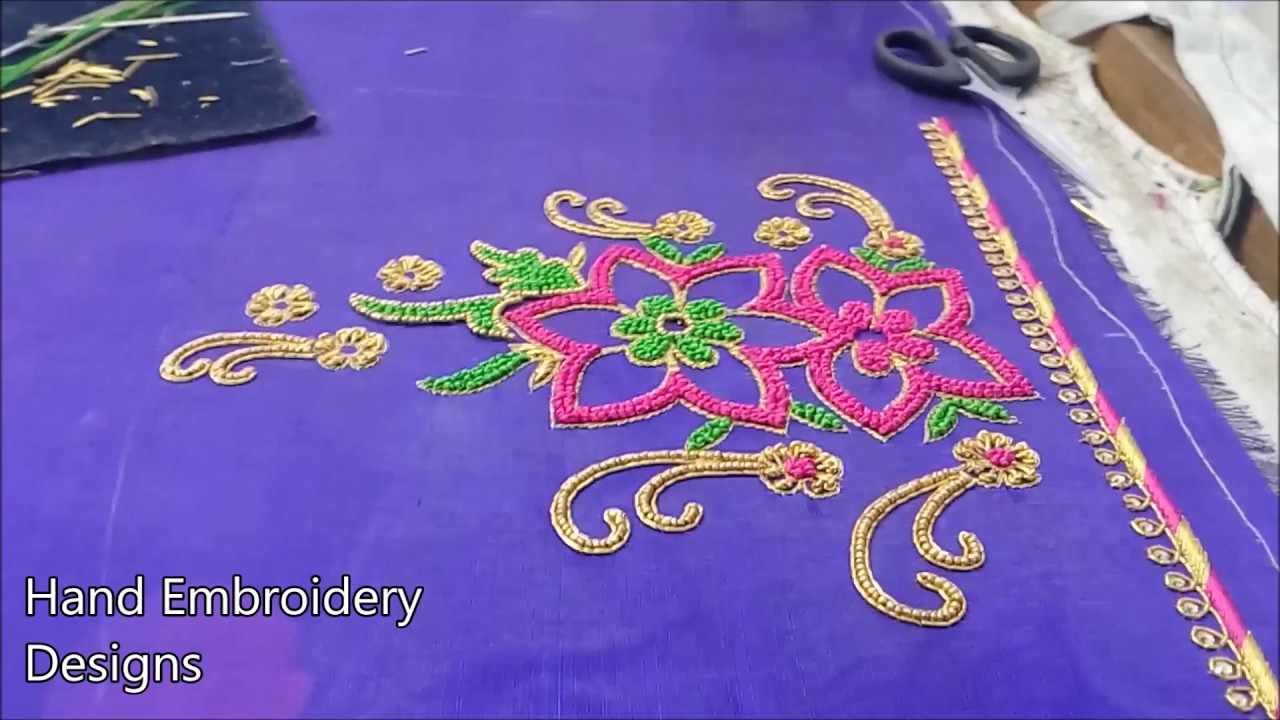Basic Art Designs : Hand embroidery designs basic stitches simple