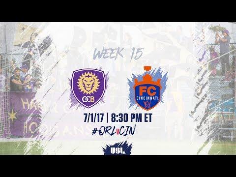 USL LIVE - Orlando City B vs FC Cincinnati 7/1/17
