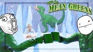 SAVE THE DINOSAUR! | Mean Greens Plastic Warfare