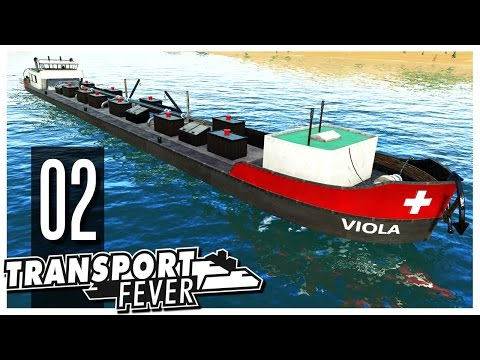 Transport Fever - Ep.02 : Ships & Harbors!