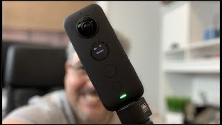 Vamos a mostrarle a Victor como se graba con la Insta 360 One X