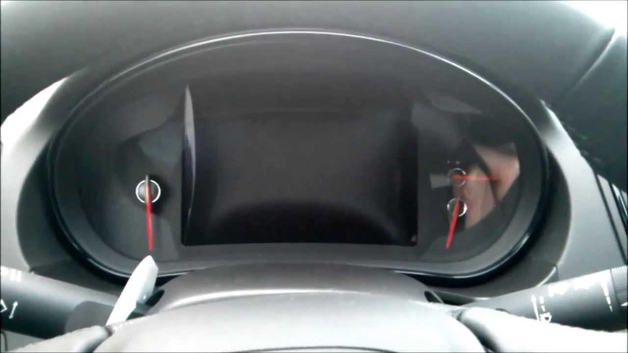 Opel insignia tft instrument panel youtube for Insignia interior design decoration