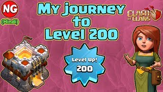 (Hindi) My journey to Level 200   Clash of Clans
