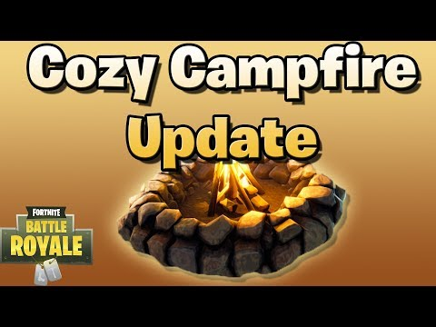 New Cozy Campfire! (Fortnite Battle Royale Update 2.1.0)