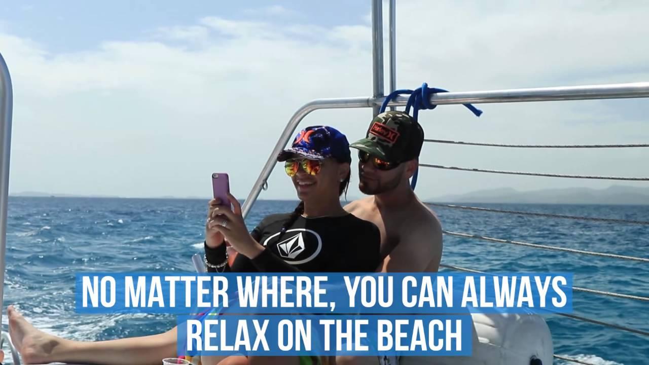 East Wind Sailing Catamaran Snorkeling Trip Text Description Video