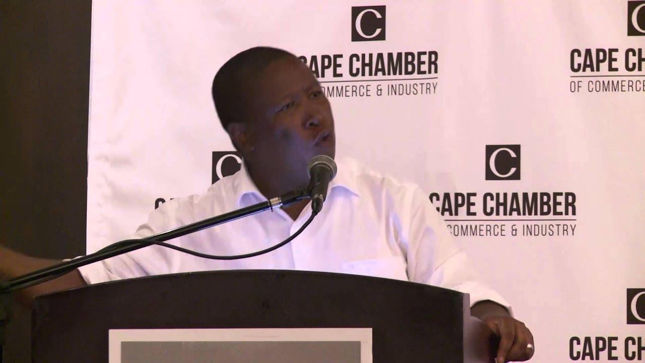 Julius Malema | Aparthied economy still operates in South Africa