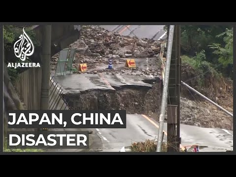 China, Japan hit by devastating floods, mudslides