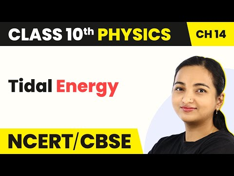 Ocean Energy Systems: Tidal Energy - Sources of Energy | Class 10 Physics