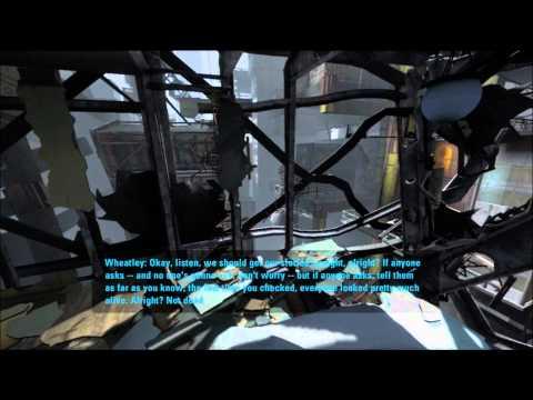 Portal 2: Walkthrough - Part 1 (Chapter 1) (PS3/X360/PC) [1080p HD] (Gameplay)