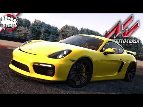 ASSETTO CORSA - Porsche Cayman GT4 @ Tor Poznań - Porsche Pack II - Let's Play Assetto Corsa