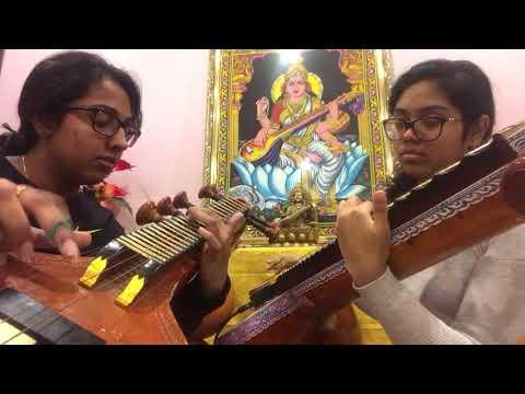 Raa Raa/ Varai Naan Unnai (Veena Cover) | Chandramukhi | Veena Thambaps