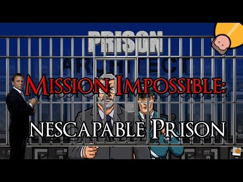 Prison Mission Impossible -Escaping from an Inescapable Prison- Prison Architect |