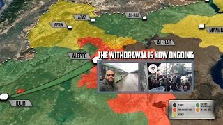 15 декабря 2016. Военная обстановка в Сирии. Боевики уходят из Алеппо  в Идлиб. Русский перевод.