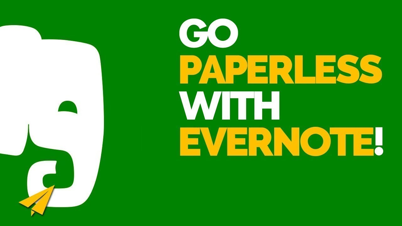 evernote paperless