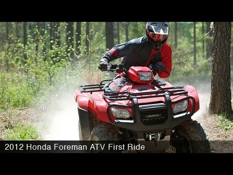 New Honda Foreman Review and Test