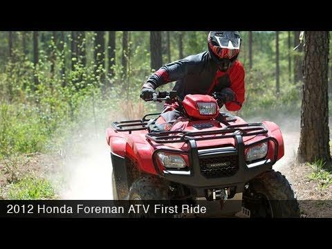 MotoUSA 2012 Honda Foreman ATV