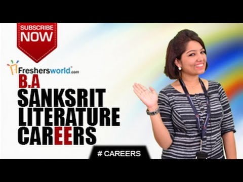 CAREERS IN BA SANSKRIT  LITERATURE – MA,P.hD,Classical Language,Teacher,Salary Package
