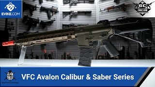 VFC Avalon Series - Calibur and Saber - [The Gun Corner] - Airsoft Evike.com