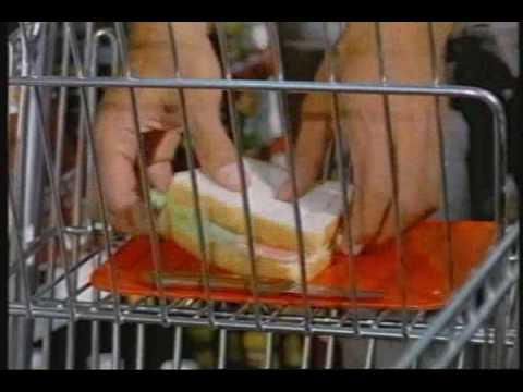 How Joe Namath Eats a Sandwich