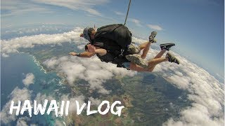 SKYDIVING IN HAWAII!! *TERRIFYING*