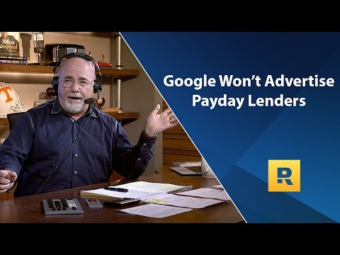 Google Won't Advertise Payday Lenders Anymore