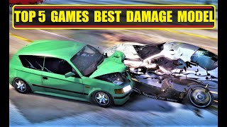 TOP-5 Racing Games wİth the Best Damages