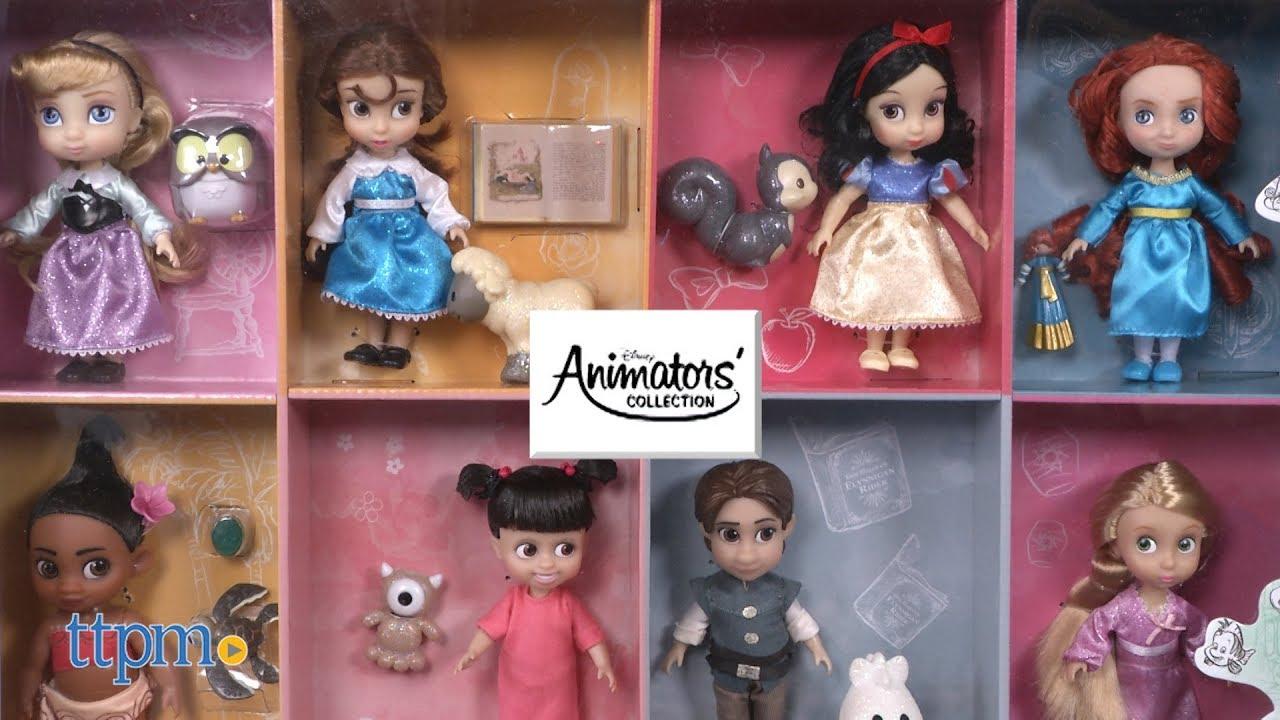 1067eda6821 Disney Animators  Collection Mini Doll Gift Set from Disney Store ...