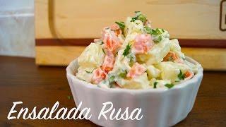 Ensalada Rusa (con Yogurt Griego) - Mi Cocina Rápida