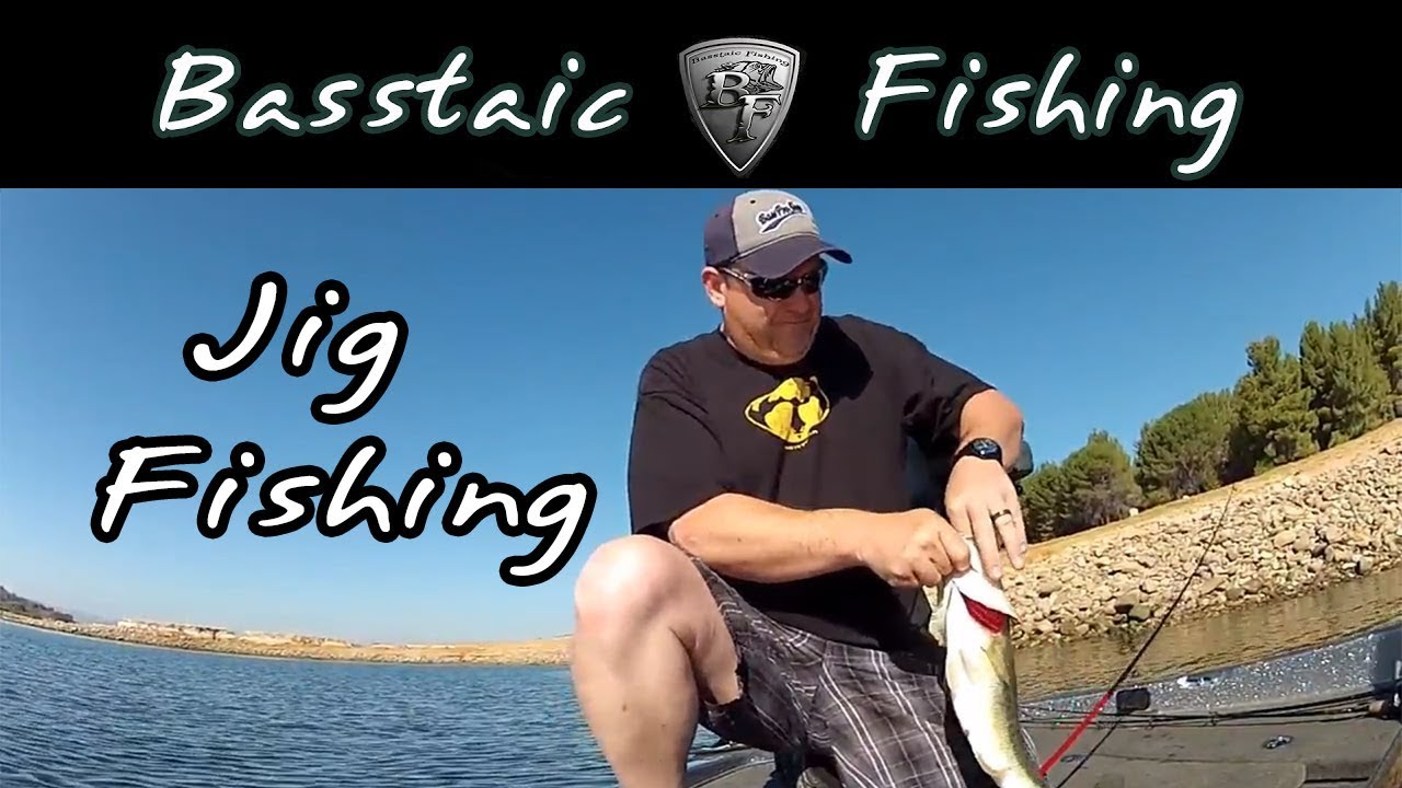 Jig fishing for bass at castaic lake youtube for Castaic fishing report