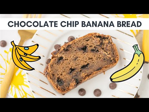 How to Make Gluten-Free Chocolate Chip Banana Bread ����