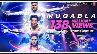Street Dancer 3D new song Muqabla: Prabhudeva, Varun Dhawan, MUQABLA SONG ON HIGH BASE 😍😍😍👌🔥
