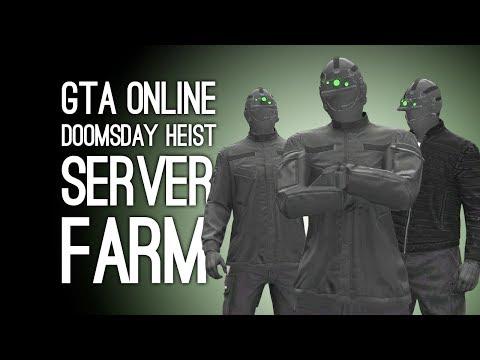 GTA Online Doomsday Heist Pt 5 Server Farm: STEALTH TEAM DEPLOY!