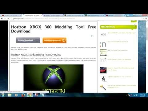 horizon xbox modding tool download