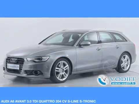 vodiff audi occasion alsace audi a6 avant 3 0 tdi quattro 204 cv s line s tronic mod 2014. Black Bedroom Furniture Sets. Home Design Ideas