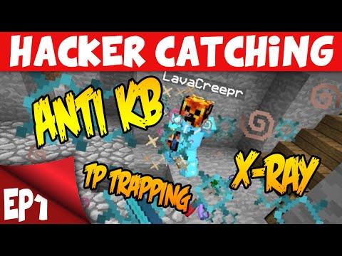 Minecraft: TROLLING HACKERS! EP1 Anti-Knockback Faction