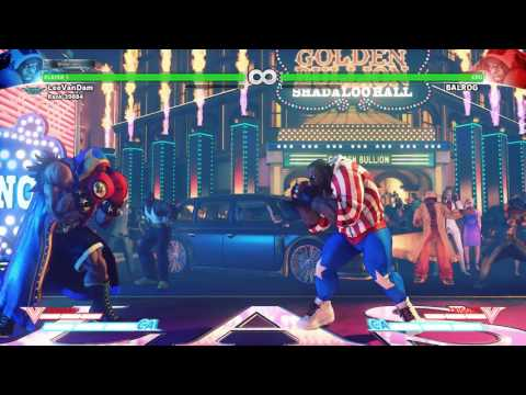 SFV: Gold Bullion Fight Scene (Balrog Stage Music)