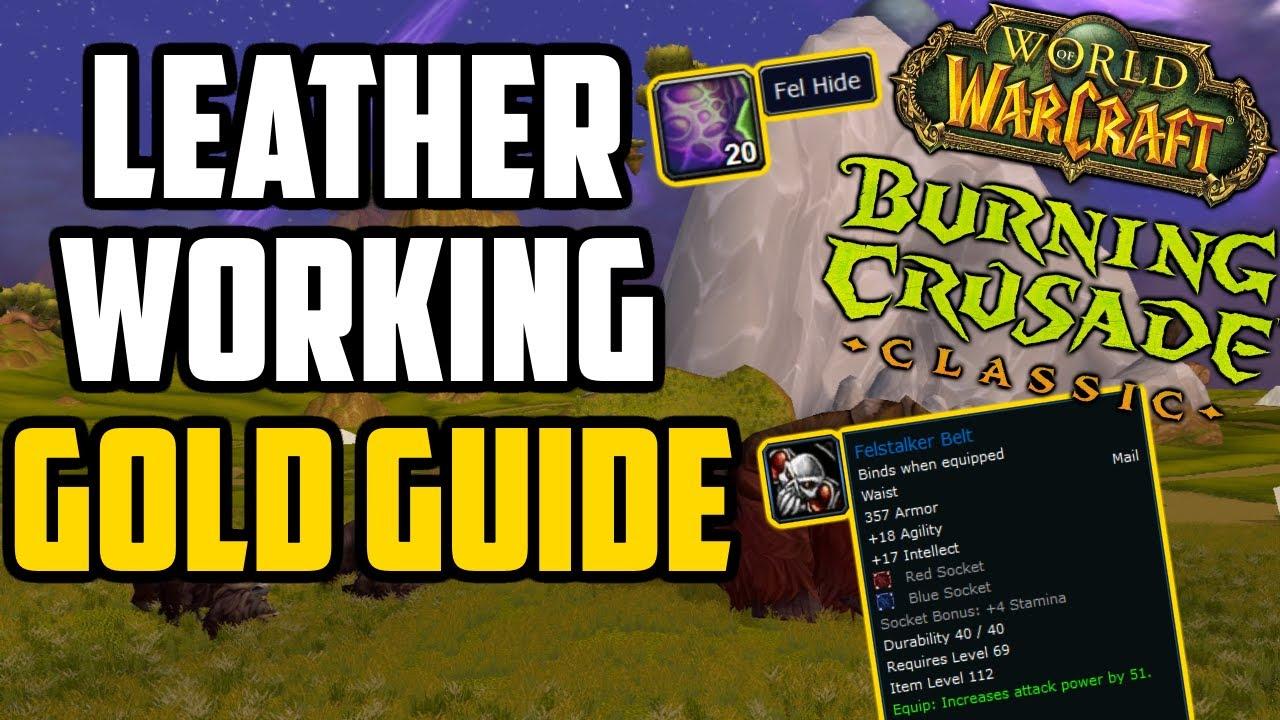 TBC Classic Leatherworking Goldmaking Guide