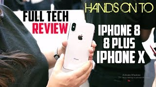 iPhone X Hands On First Look | Everything you need to know about iPhone 8 ,8 Plus and iPhone x