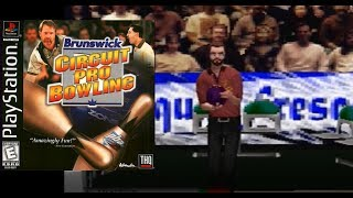 Brunswick Circuit Pro Bowling - PBA (Playstation) Gameplay