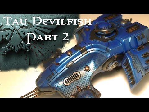 How To Paint - Tau Devilfish - Part 2