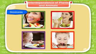 Interdependence of Plants and Animals class-5